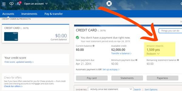 tarjeta de credito amazon chase reembolso cashback puntos