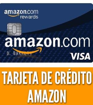 Tarjeta de credito amazon