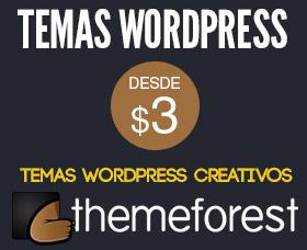 Temas wordpress creativos themeforest