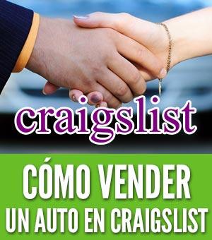 Vender un auto en craigslist