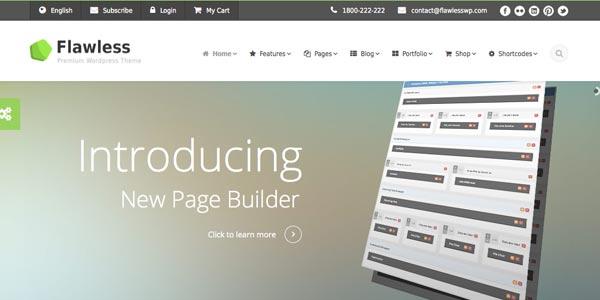 Mejores temas WordPress con constructor de páginas o page builder