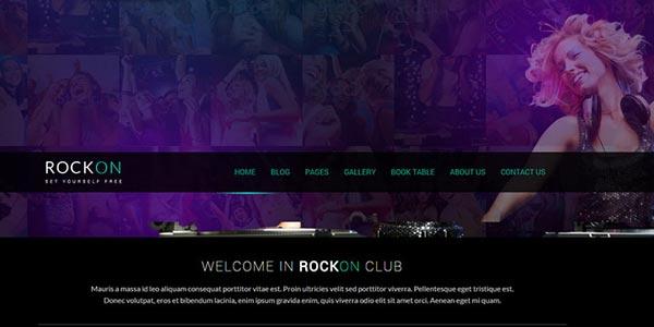 Temas WordPress para discotecas y clubs que SÍ son atractivos