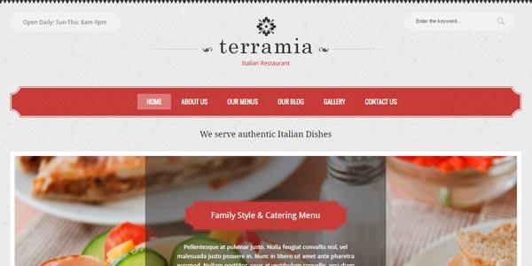 Temas WordPress para un restaurante realmente efectivos
