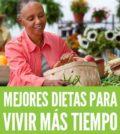 Dietas para vivir mas tiempo longevidad