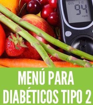 Menu para diabéticos tipo 2