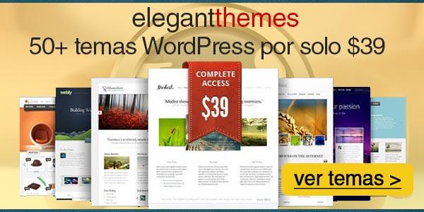 Temas WordPress modernos con funciones sumamente útiles