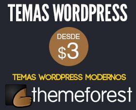 Temas wordpress modernos themeforest
