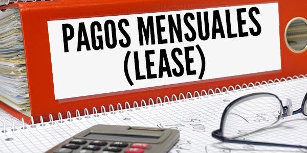 Encontrar un buen lease de autos pagos mensuales