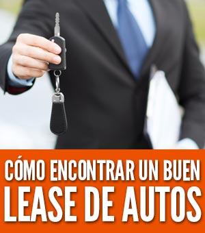 Encontrar un buen lease de autos