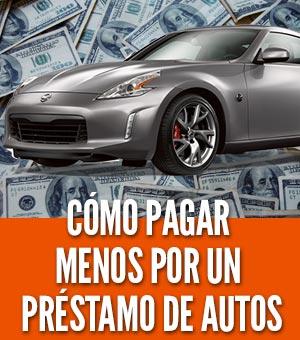 Pagar menos por un prestamo de autos