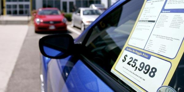 Mejor precio en un dealer de autos piensa en precios y no en cuotas de pago