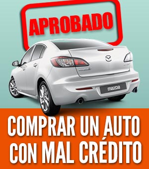 Comprar un auto con mal credito
