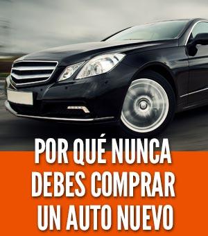Nunca comprar un carro nuevo