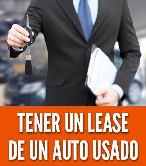 Tener un lease de un auto usado