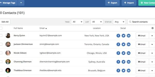 Activecampaign analisis facil de importar listas de contactos