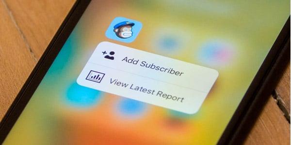 MailChimp review en español: Una aplicación móvil bastante útil