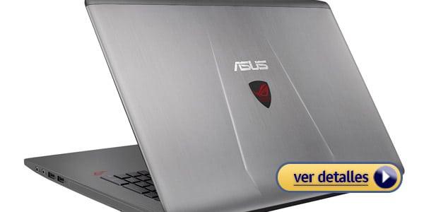 Mejor laptop i7 para jugadores asus rog g752vl dh71