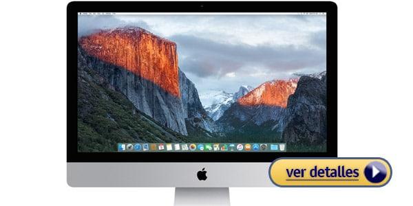 Mejor computadora para editar fotos apple imac de 27