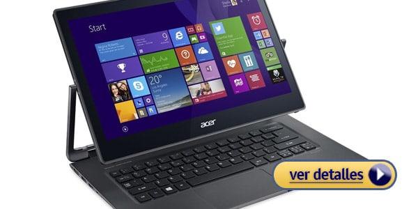 Mejor laptop acer 2 en 1 acer r7 371t 50v5