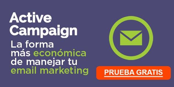 Mejores compañías de email marketing: ActiveCampaign