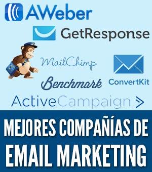 Mejores companias de email marketin