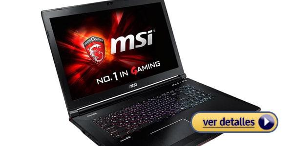 Mejores laptops core i7 msi ge72 apache pro