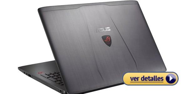 Mejores laptops para editar fotos asus rog gl552vw dh71
