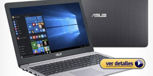 Mejores portatiles para editar fotos asus k501ux nvidia gtx 950m