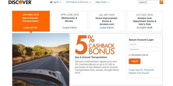 Mejores tarjetas de crédito con recompensas discover it cashback