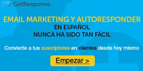 Getresponse servicio de email marketing es mejor para wordpress