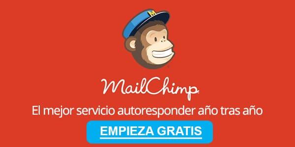 Hacer email marketing mailchim