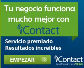 Icontact campaña de email marketing exitosa