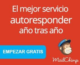 Mejor autoresponder mailchimp email marketin