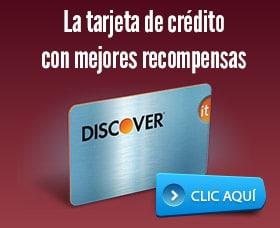 Mejores tarjetas de credito con recompensas discover