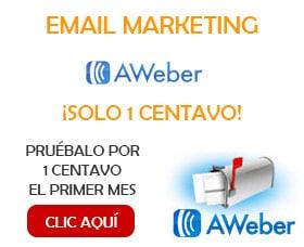 Servicios email marketing aweber