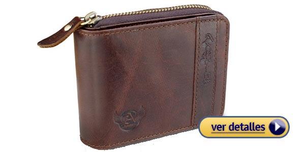b150b67a3 Mejores billeteras con cierre para hombre (buenas, bonitas y baratas)
