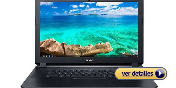 Mejor chromebook del mercado acer chromebook 15
