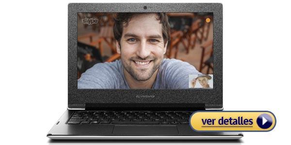 Mejor laptop barata de 11 pulgadas lenovo s21e