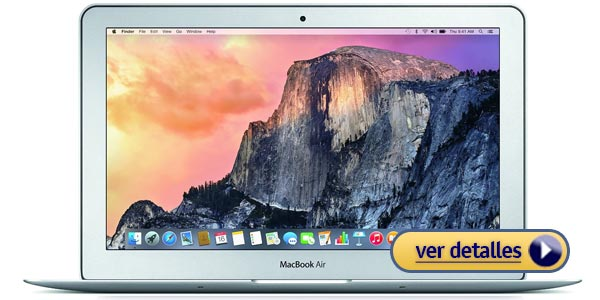 Mejor laptop de 11 pulgadas apple macbook air 11 6