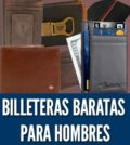 Mejores billeteras baratas para hombres