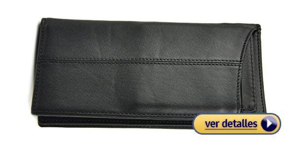 7f5c8a756 Mejores billeteras grandes: Billetera plegable de cuero Le'aokuu
