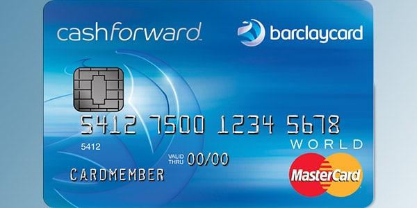 Mejores tarjetas de crédito cashback: Barclaycard CashForward World MasterCard