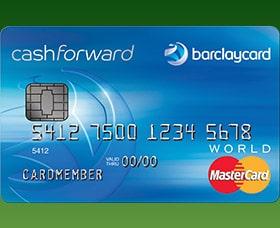 Mejores tarjetas de credito cashback barclaycard cashforward world mastercard