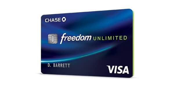 Mejores tarjetas de credito con recompensas chase freedom unlimited