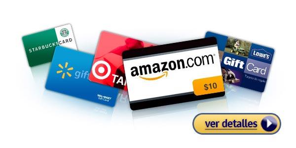 Regalos baratos de ultima hora para navidad tarjetas de regalo gift cards