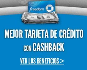 Chase freedom mejor tarjeta de credito cashback