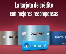 Discover mejor tarjeta de credito cashback