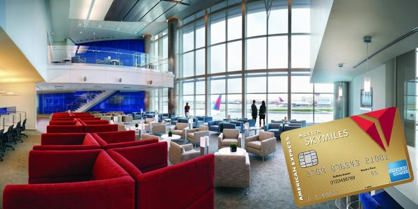 Beneficios de delta skymiles gold credit card de american express sky club delta