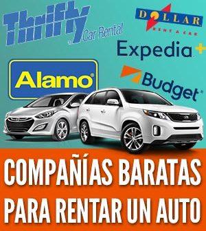 Companias baratas para rentar un auto
