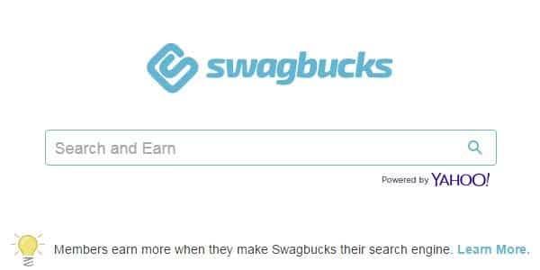 Ganar dinero con swagbucks usa su buscador de internet